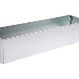 galvaniseret højbed højde 25 cm bredde 40 cm længde 120 cm