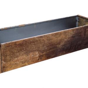 rust højbed højde 25 cm bredde 40 cm længde 120 cm